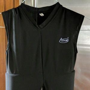 Adams football flak jacket